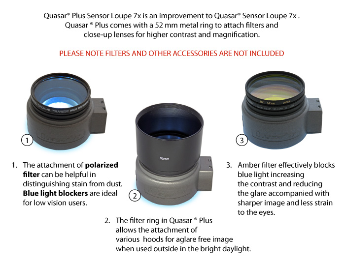 how to use filters with Quasar Plus?